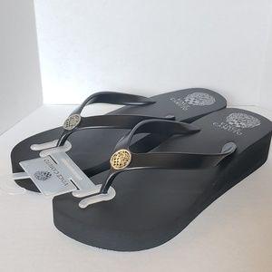 Vince Camuto Wedge Rahina Flip Flop Sandal